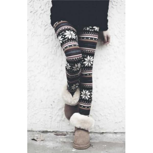 Legging tribal colore aztec azteque leggings skinny colorful printed ref-13
