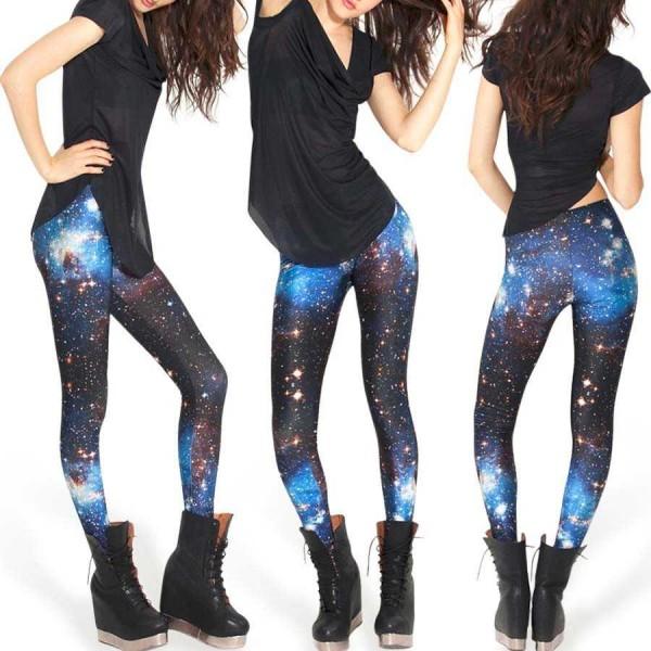 Legging galaxy fantaisie motif original leggings space printed ref-11