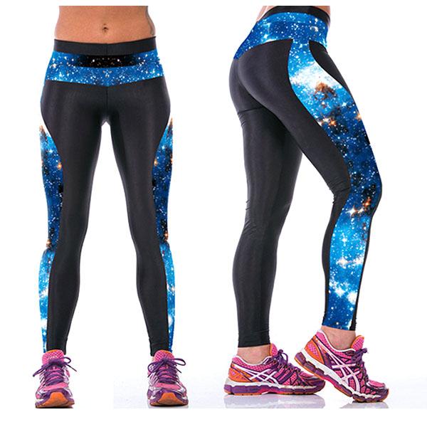 Legging galaxy Fitness Sport original leggings space printed ref-25