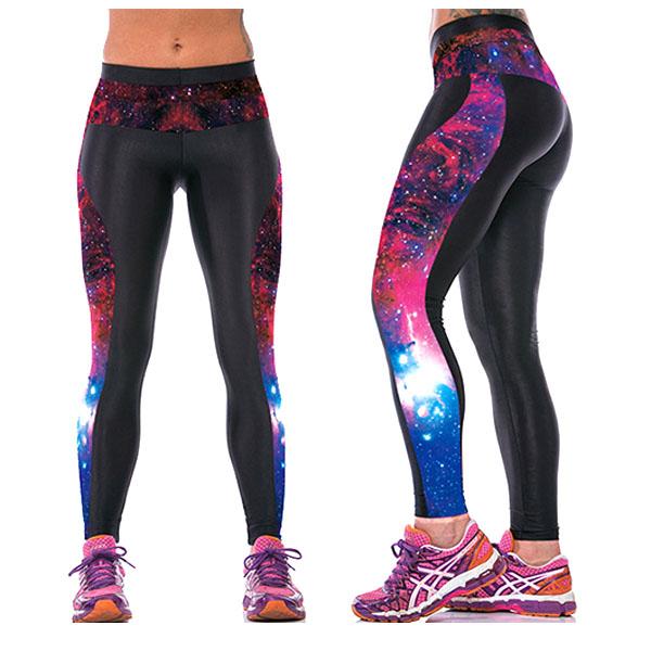 Legging galaxy Fitness Sport original leggings space printed ref-26