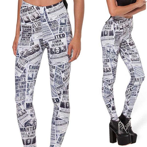 Legging imprime fantaisie motif original leggings printed ref-01