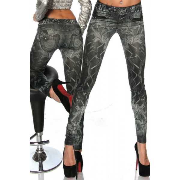 Legging jean leggings jeans jegging sexy fashion ref-04