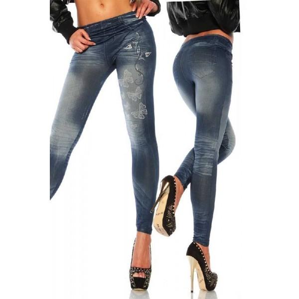 """legging jmitation jean noir"""""""