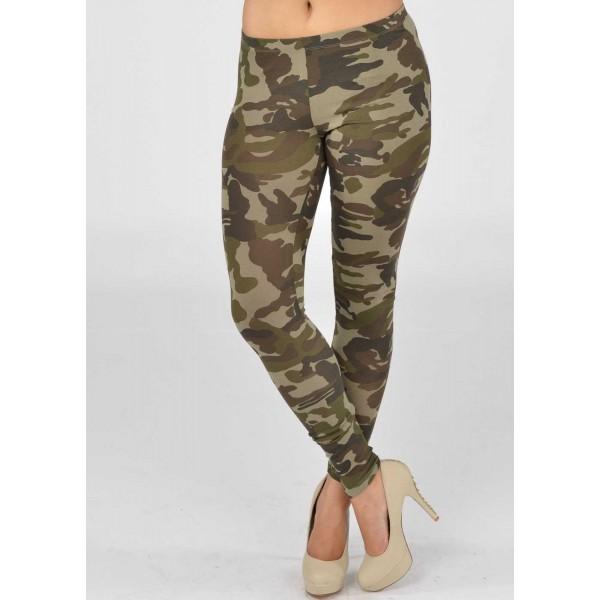 Legging militaire leggings military camouflage sexy fashion ref-03