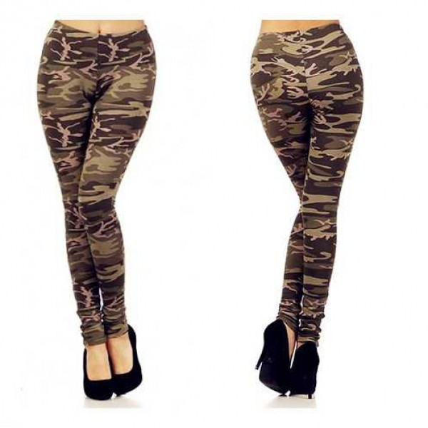 Legging militaire leggings military camouflage sexy fashion ref-05