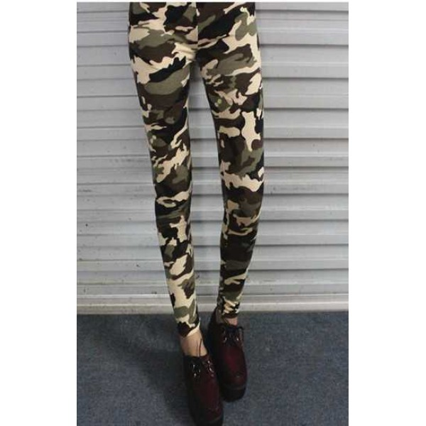 Legging militaire leggings military camouflage sexy fashion ref-07