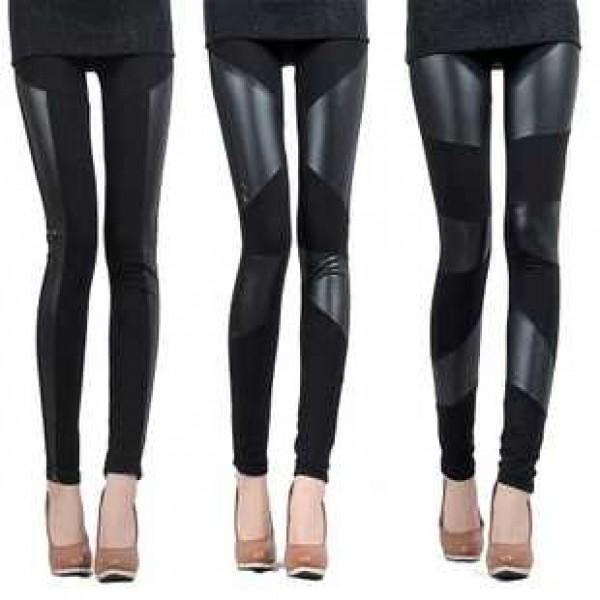 legging simili cuir faux leather leggings sexy fashion pu ref 05. Black Bedroom Furniture Sets. Home Design Ideas