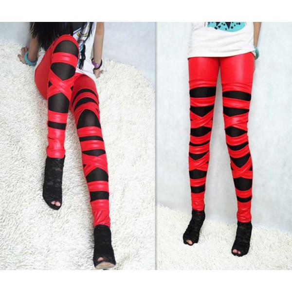 Legging troue dechire destroy ripped leggings sexy fashion ref-11