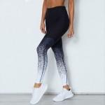 Legging fitness Squat Workout Musculation degrade noir ref-28