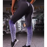 Legging fitness Squat Workout Musculation degrade violet ref-29