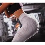 Legging fitness Sport Squat Workout Musculation blanc creme ref-27