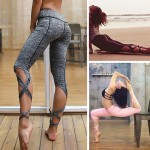Legging fitness Sport Running Yoga Pantacourt Hot sexy workout ref-21