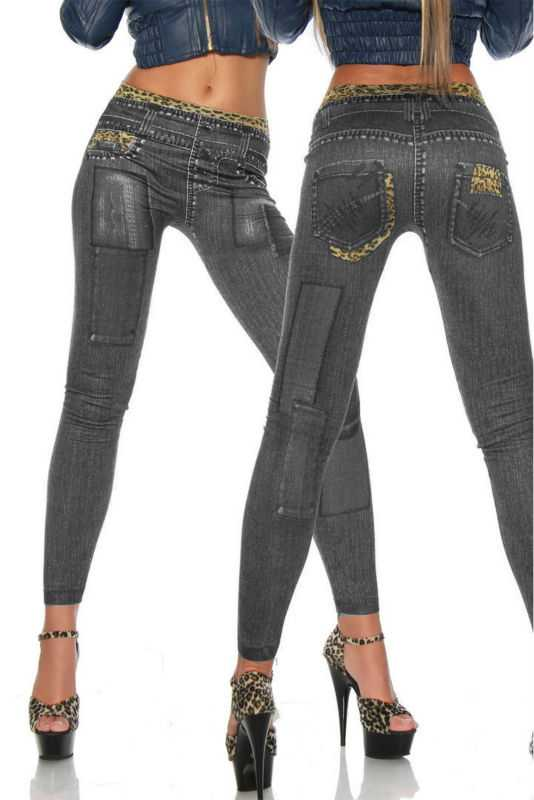 Legging jean leggings jeans jegging sexy fashion ref-07